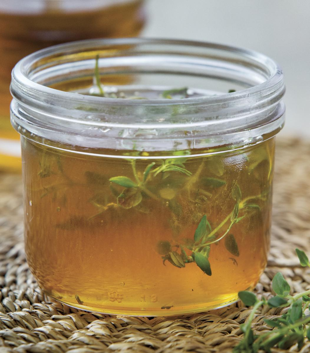 Thyme-Infused Honey